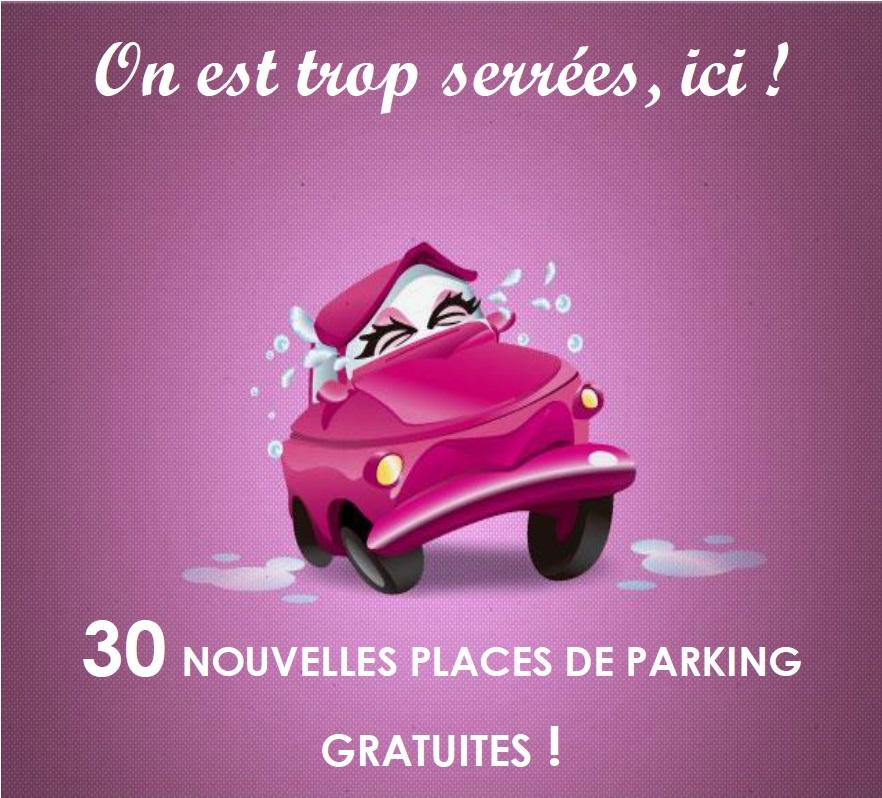 Un nouveau parking à votre disposition !