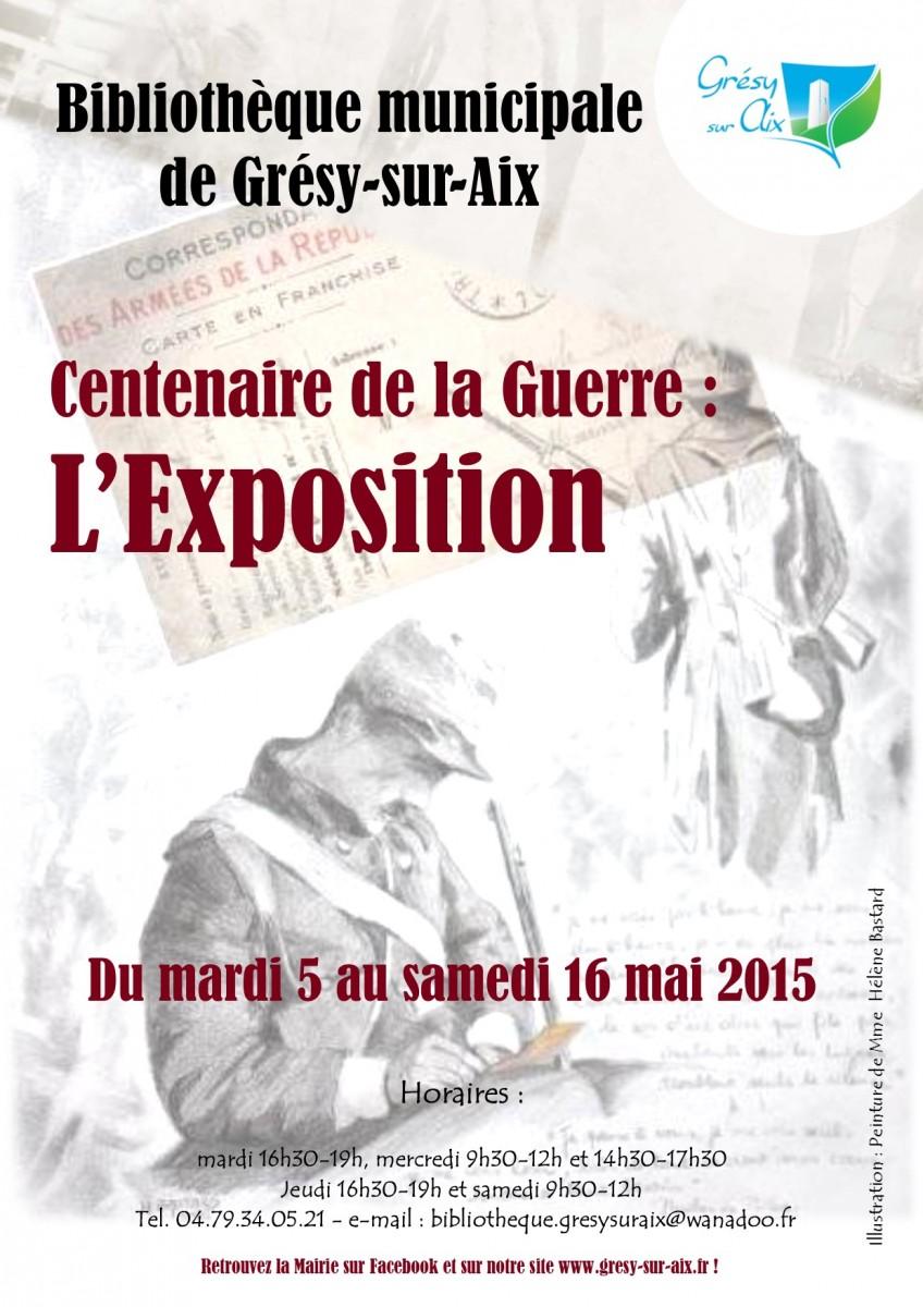 Centenaire de la Guerre : l'Expo